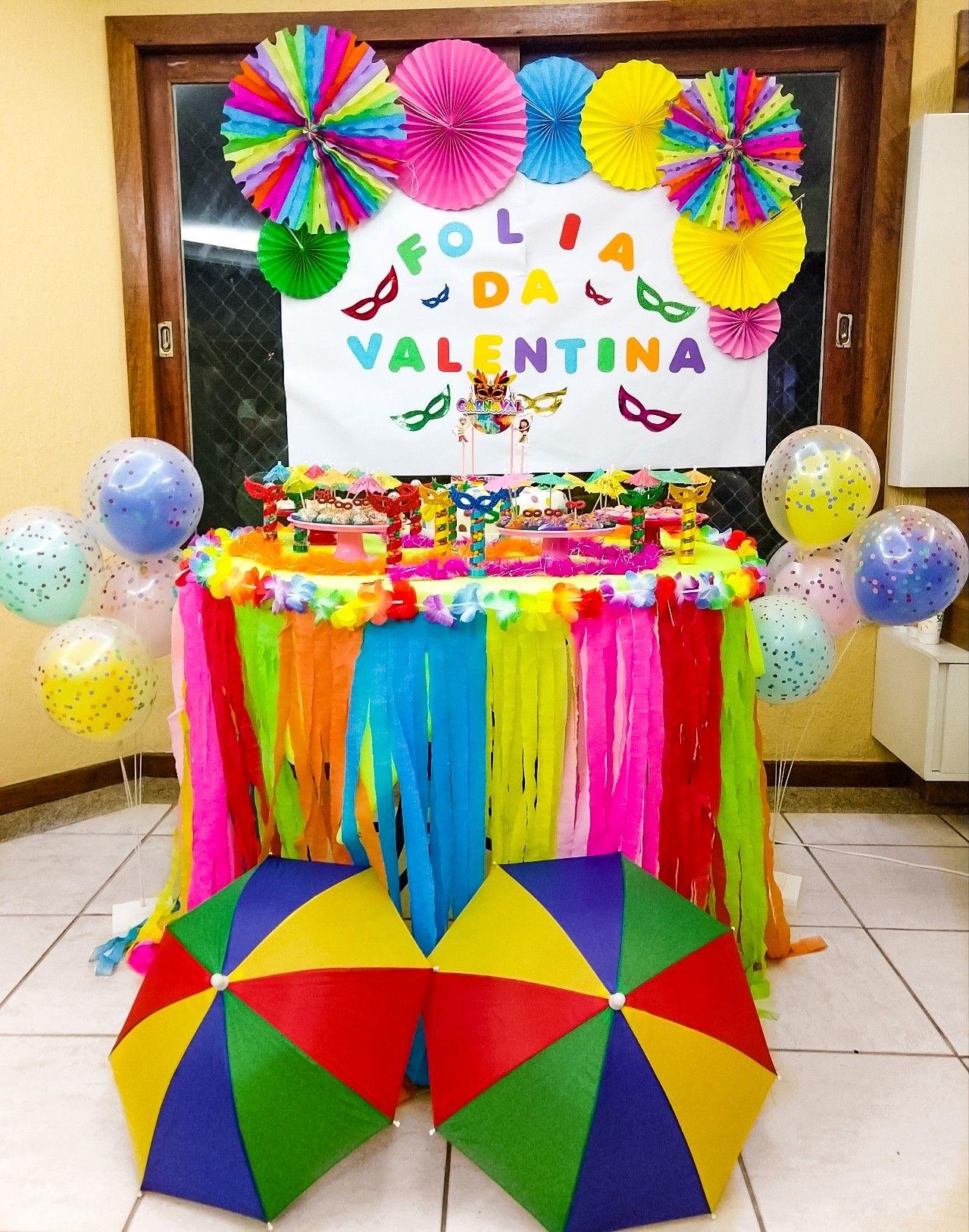 Festa De Mesversario Tema Carnaval Ideias Inspiradoras Da