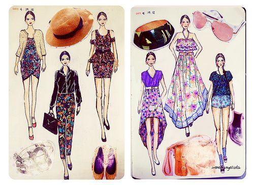 Fashion Design Sketchbook Ilustracion De Moda Figurines De Moda Bocetos De Moda