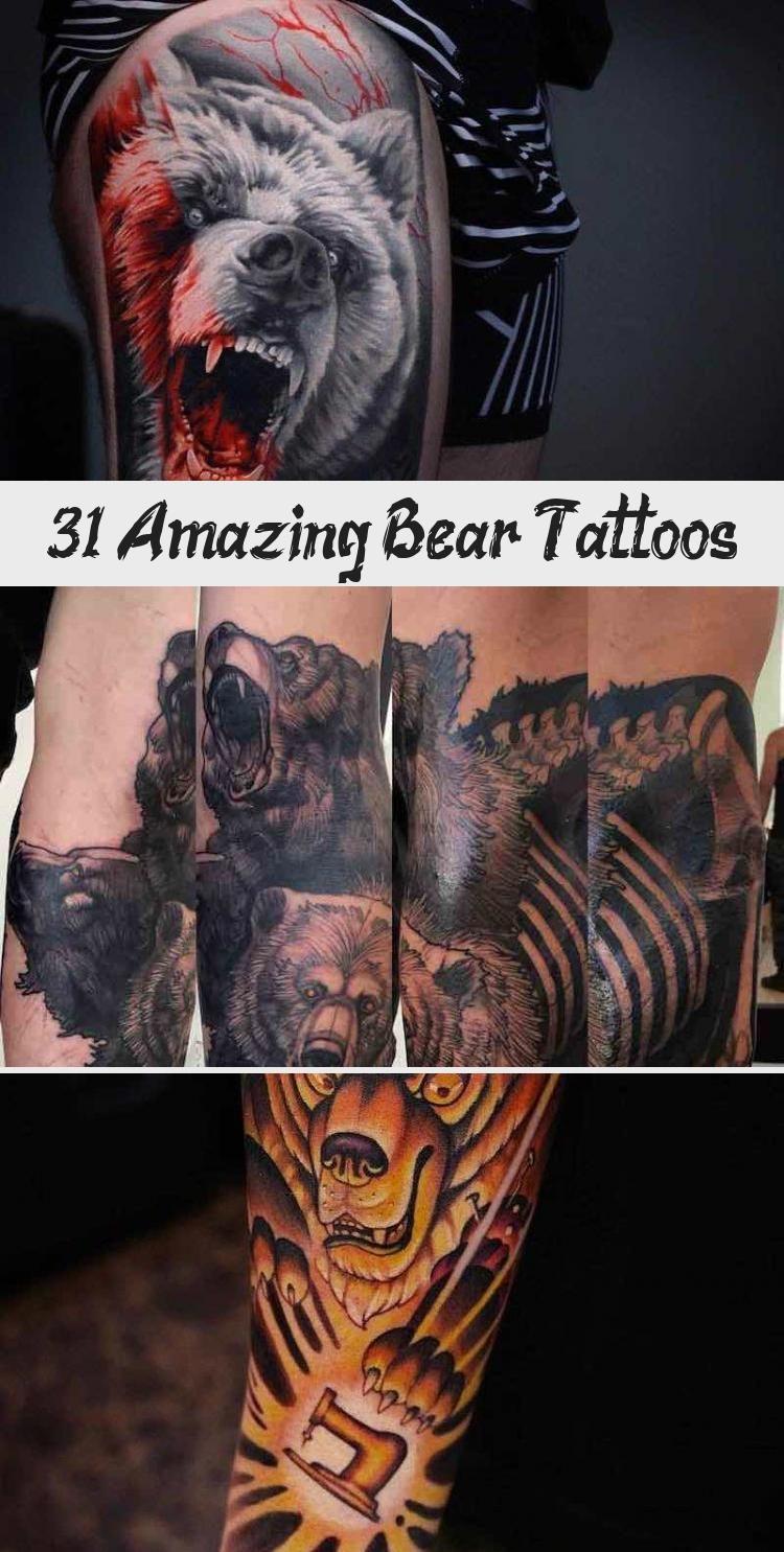 Bear Tattoo by Krish Trece #neotraditionaltattoosPanther # ...