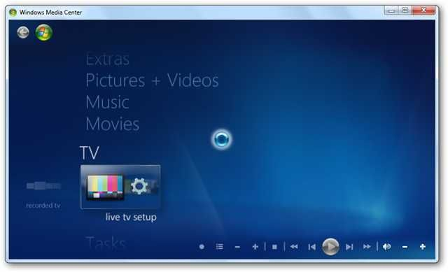 Learning Windows 7: Setup Live TV in Windows Media Center ...