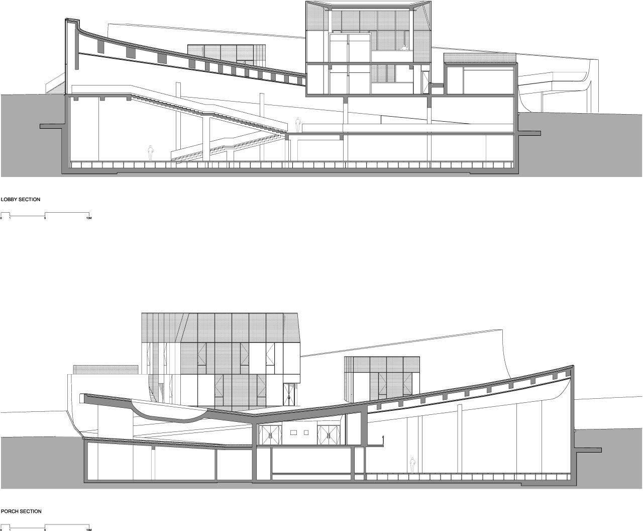 Minimalist Design Of Cite De L Ocean Et Du Surf Museum