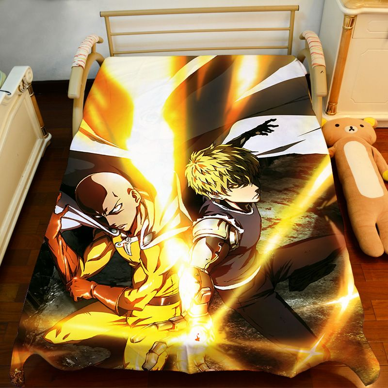 Free Shipping Anime Manga ONE PUNCH MAN Bed Sheet 150