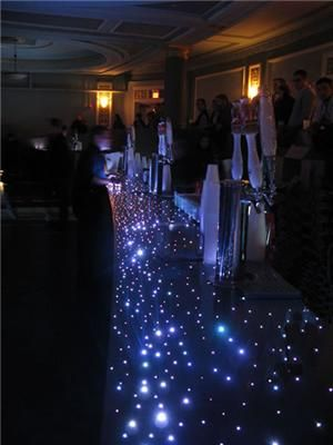 Wellmont Theater, NJ. Poured In Place With Almost 5 Miles Of Fiber Optics.