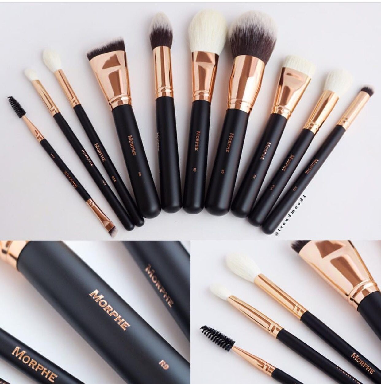 ⚡️NEW⚡️ Rose Gold Brush Set from Morphe Brushes! 10