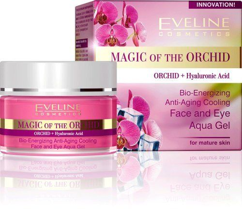 Magic Of The Orchid Aqua Face Eye Gel By Eveline Cosmetics Save 55 Off 8 99 Orchid Combination Skin Face Wash Anti Wrinkle Night Cream Anti Aging Makeup
