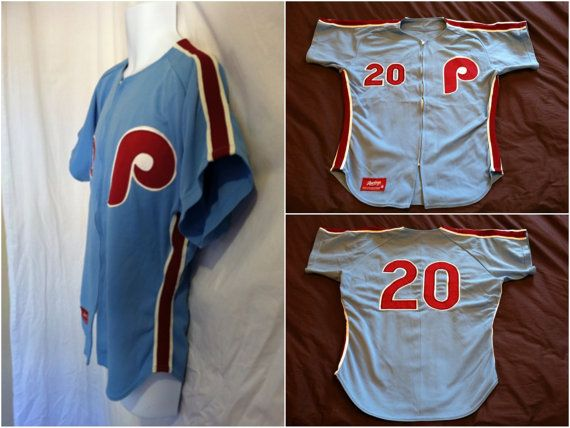 8d5a2915 Late 70s to early 80s Philadelphia Phillies jersey. It could have been worn  by a minor league affiliate or could be a salesmans sample. This