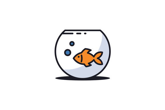 Goldfish Logo Template Logo Templates Goldfish Branding Design Logo
