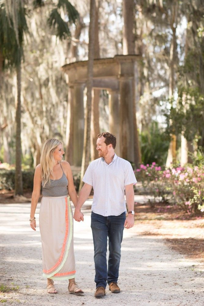 Couples Photography at Kraft Azalea in Winter Park in 2020