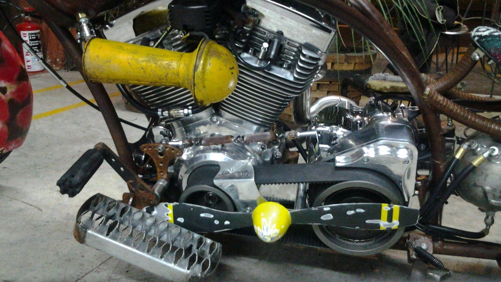 Rat bike engine