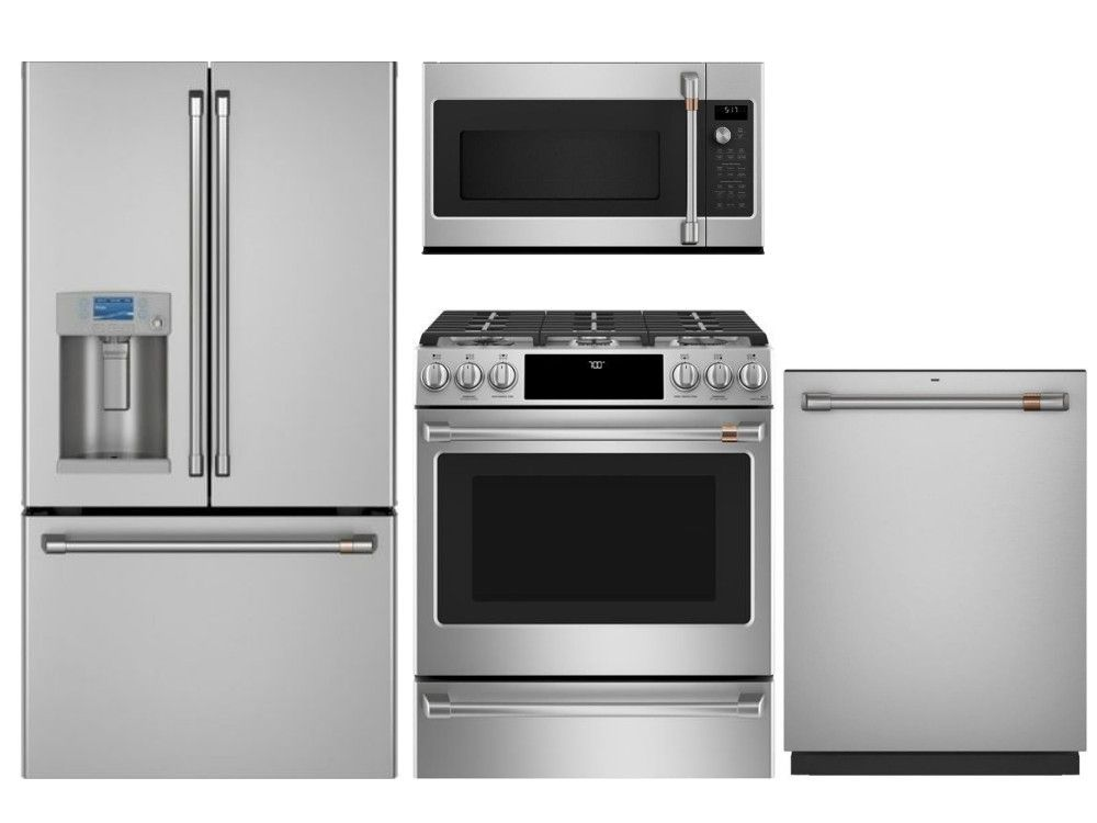 Package Ls2 Lg Studio Appliances 4 Piece Appliance Package With Gas Range Stainles Kitchen Appliance Packages French Door Refrigerator Kitchen Appliances