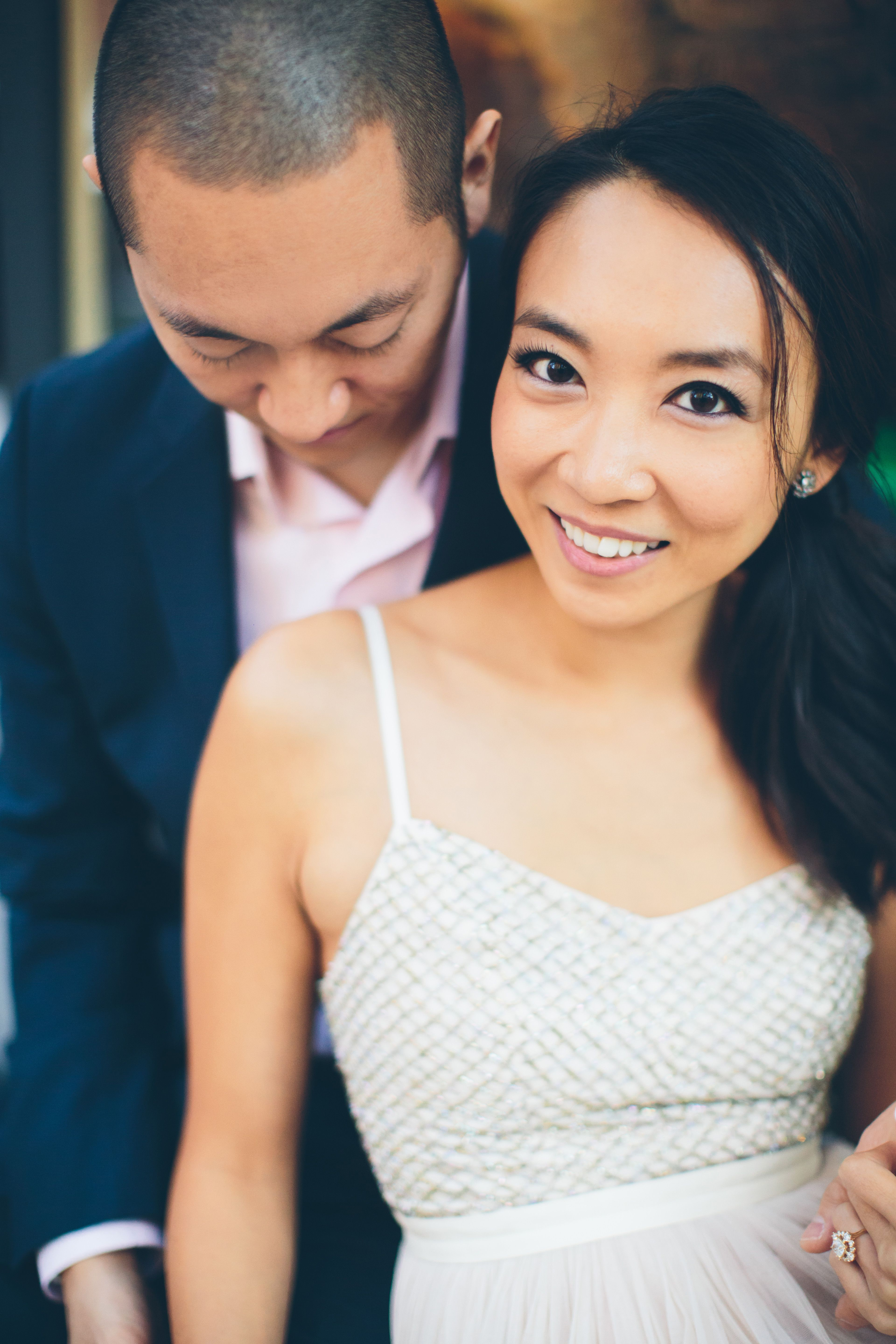 beautiful new york city engagement shoot in the west village