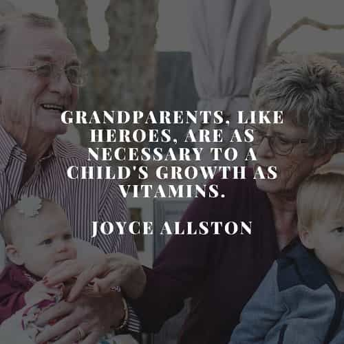 50 Grandparents quotes and sayings that warms the heart