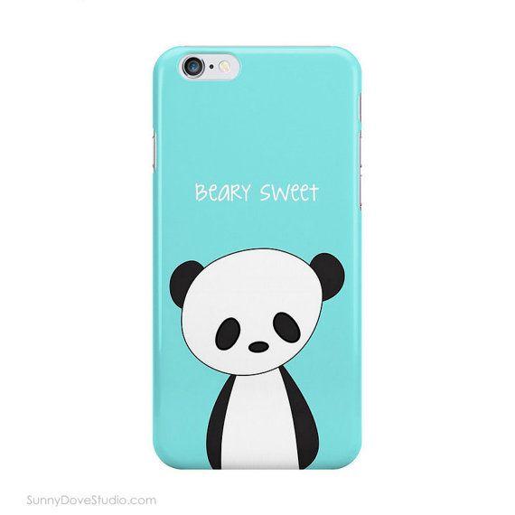 Cute Panda Phone Case IPhone Device Cases Beary Sweet Bear