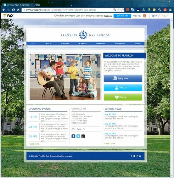 Use this academic html template to educate your audience about the explore html templates website template and more pronofoot35fo Image collections