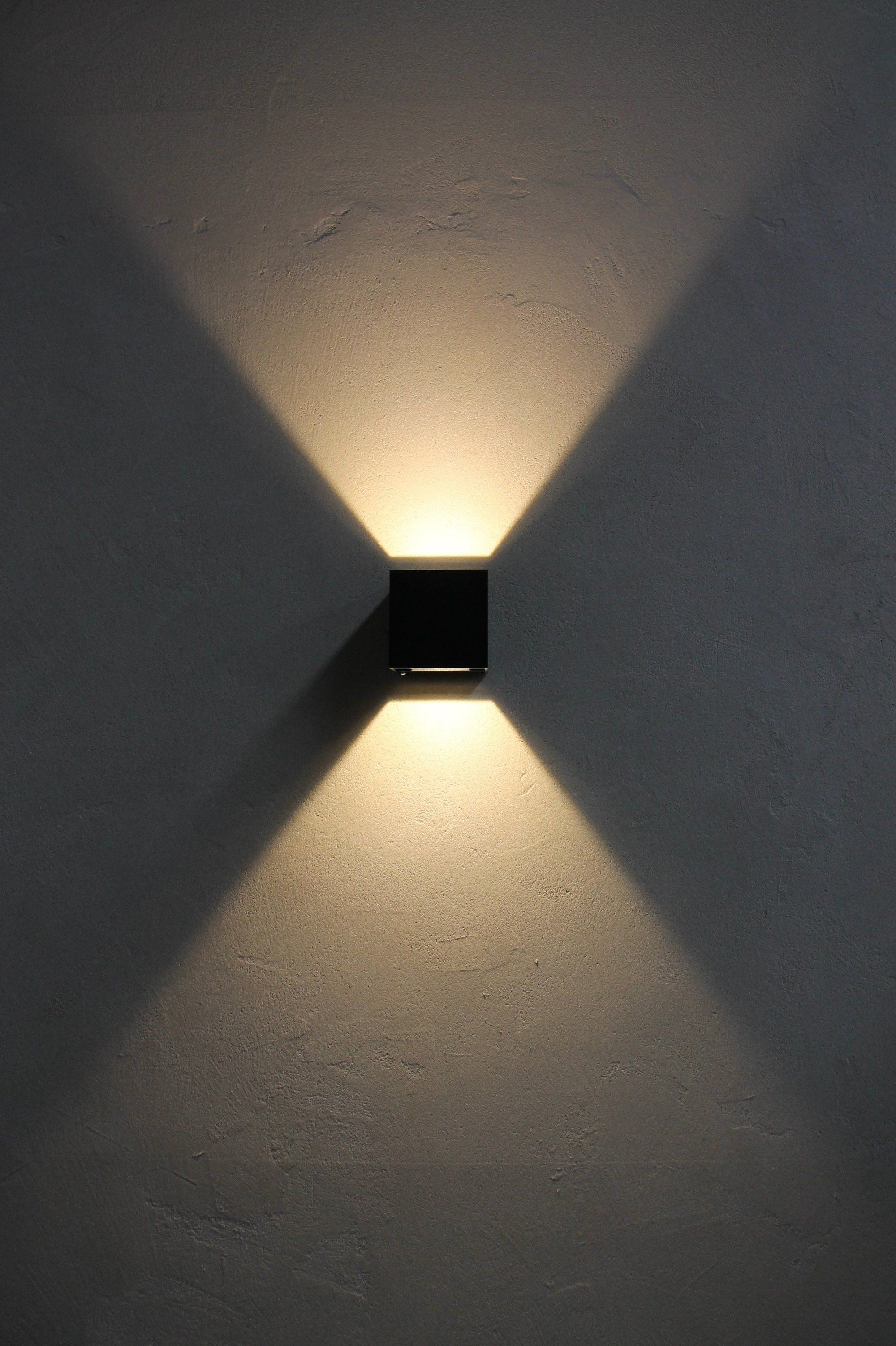 Led Up Down Outdoor Wall Light Outdoor Wall Lighting Modern