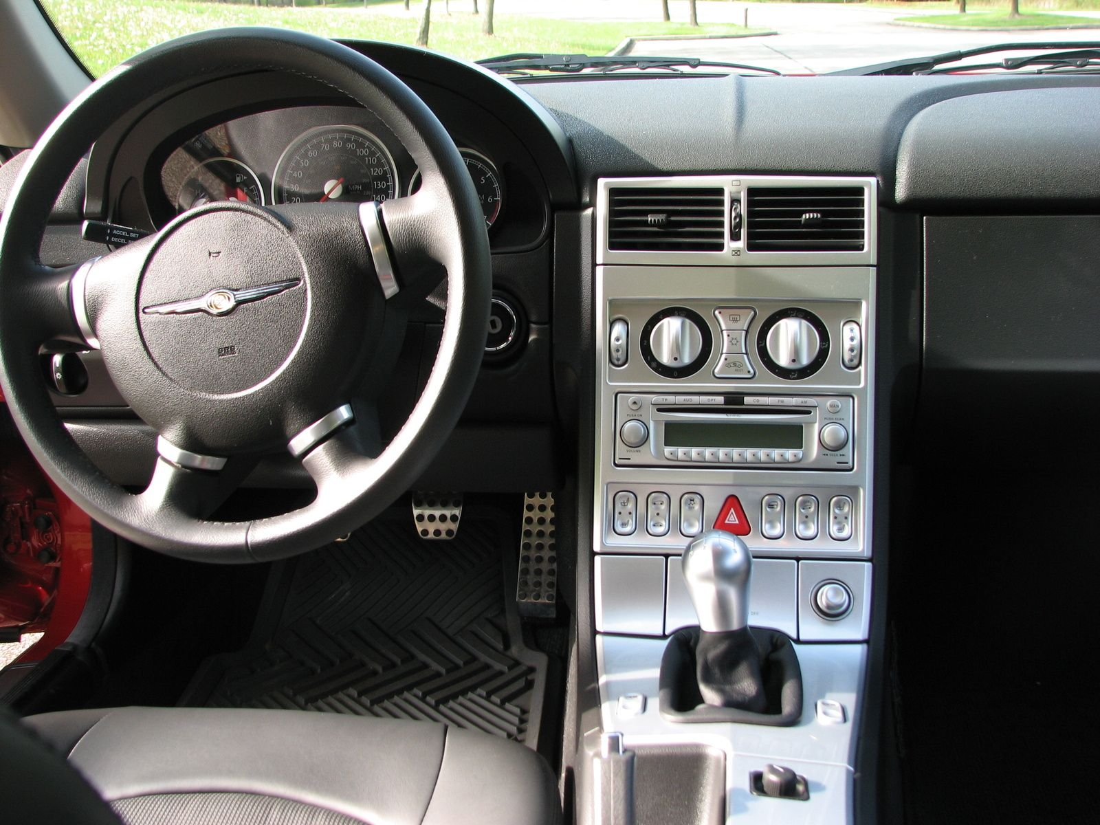Chrysler Crossfire Interior With Images Chrysler Crossfire