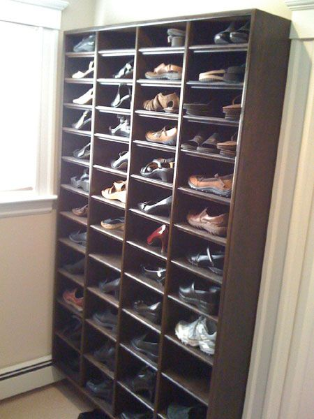 Carl Leguia | Carpentry U0026 Remodeling | Closets | Needham, MA · Shoe CubbyEntryway  ...