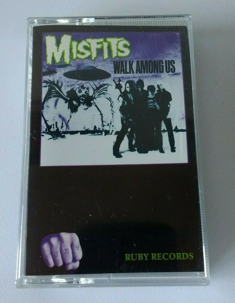 Misfits - Walk Among Us - Cassette, Made In Poland 1991 | eBay ...
