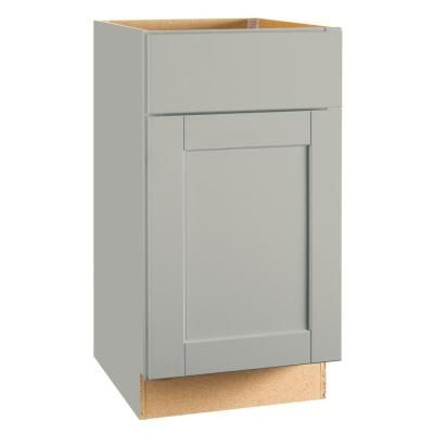 Best Shaker Base Cabinets In Dove Gray – Kitchen – The Home 640 x 480