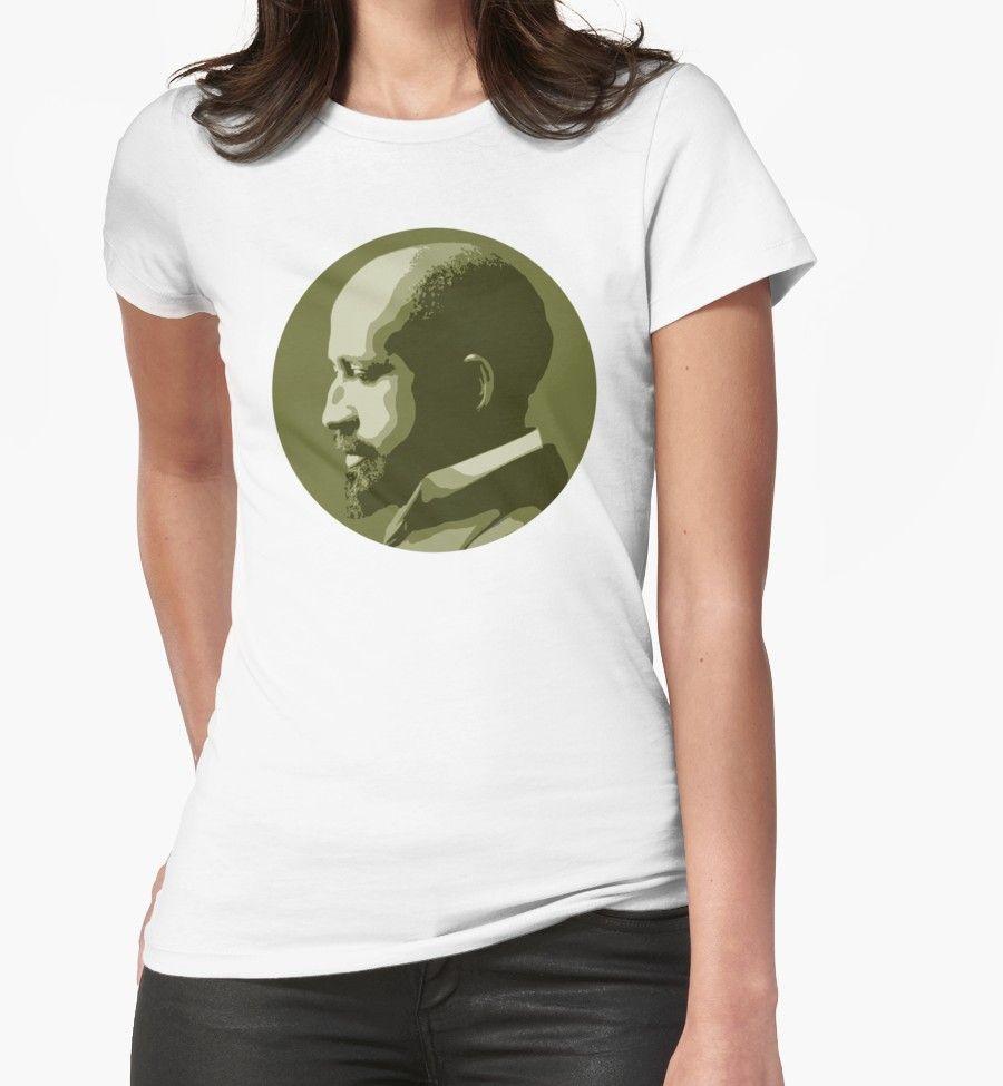 Web dubois tshirt by savantdesigns portrait design