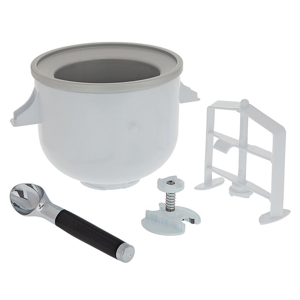 KitchenAid® Ice Cream Maker Attachment with Ice Cream Scoop