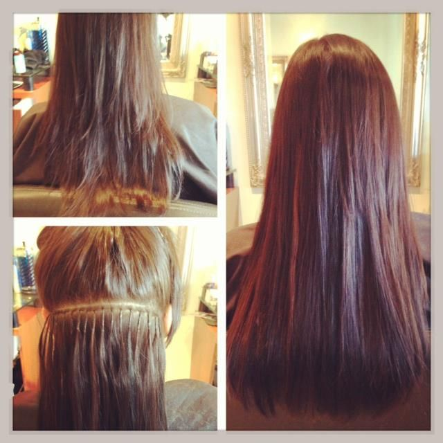 Before After SoCap Extensions Created By Kerri Our Extension Expert