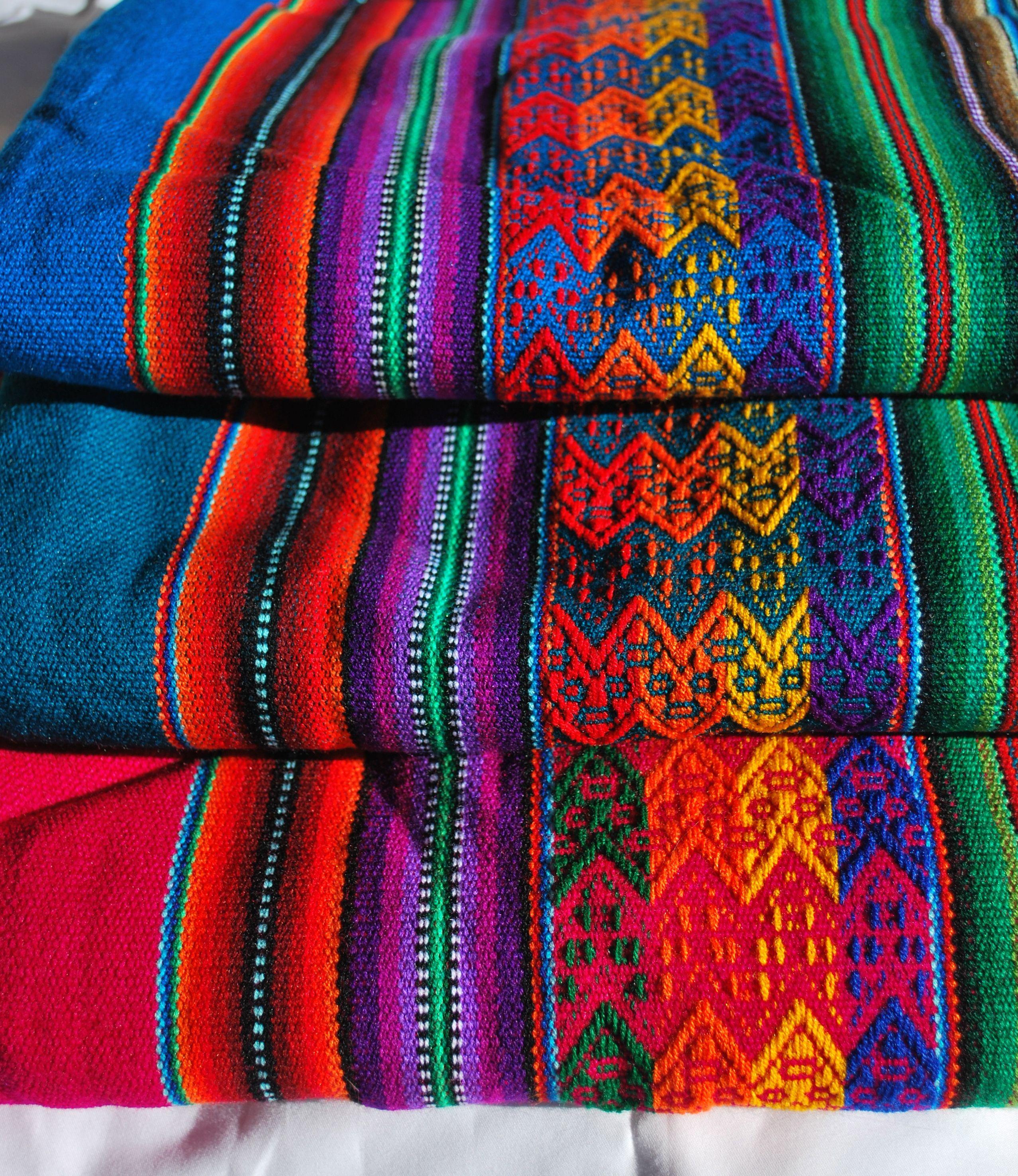 Peruvian Manta Blankets 4ft X 4ft Peru Babycarrier Manta Blankets Etsy Etsy