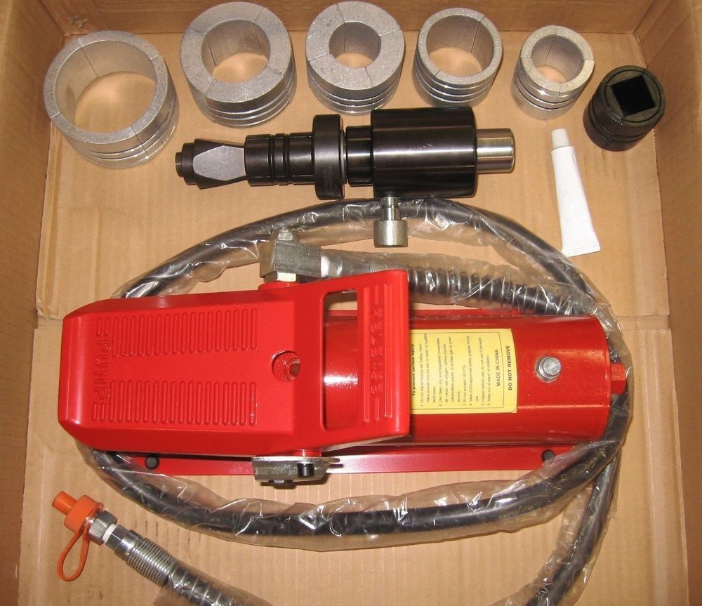AIR HYDRAULIC EXHAUST PIPE EXPANDER STRETCHER 1 5/8
