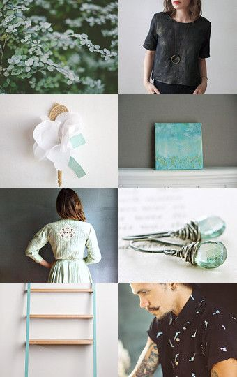 mint leaves  by mirta on Etsy--Pinned with TreasuryPin.com