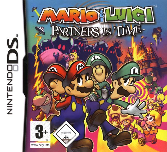 Partners In Time Is A Ds Sequel To 2003 S Mario Luigi