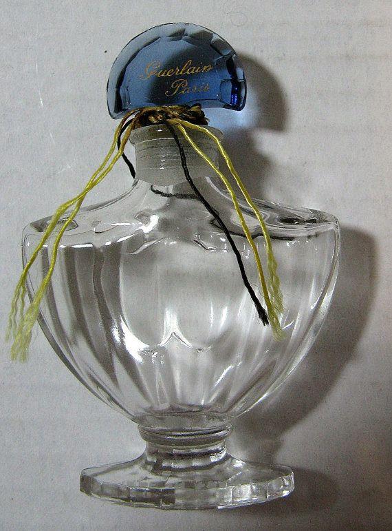 Vintage Shalimar 1 3 Fluid Ounce Perfume Bottle Made In France By Guerlain Paris Shalimar Perfume Bottles Vintage Perfume Bottles