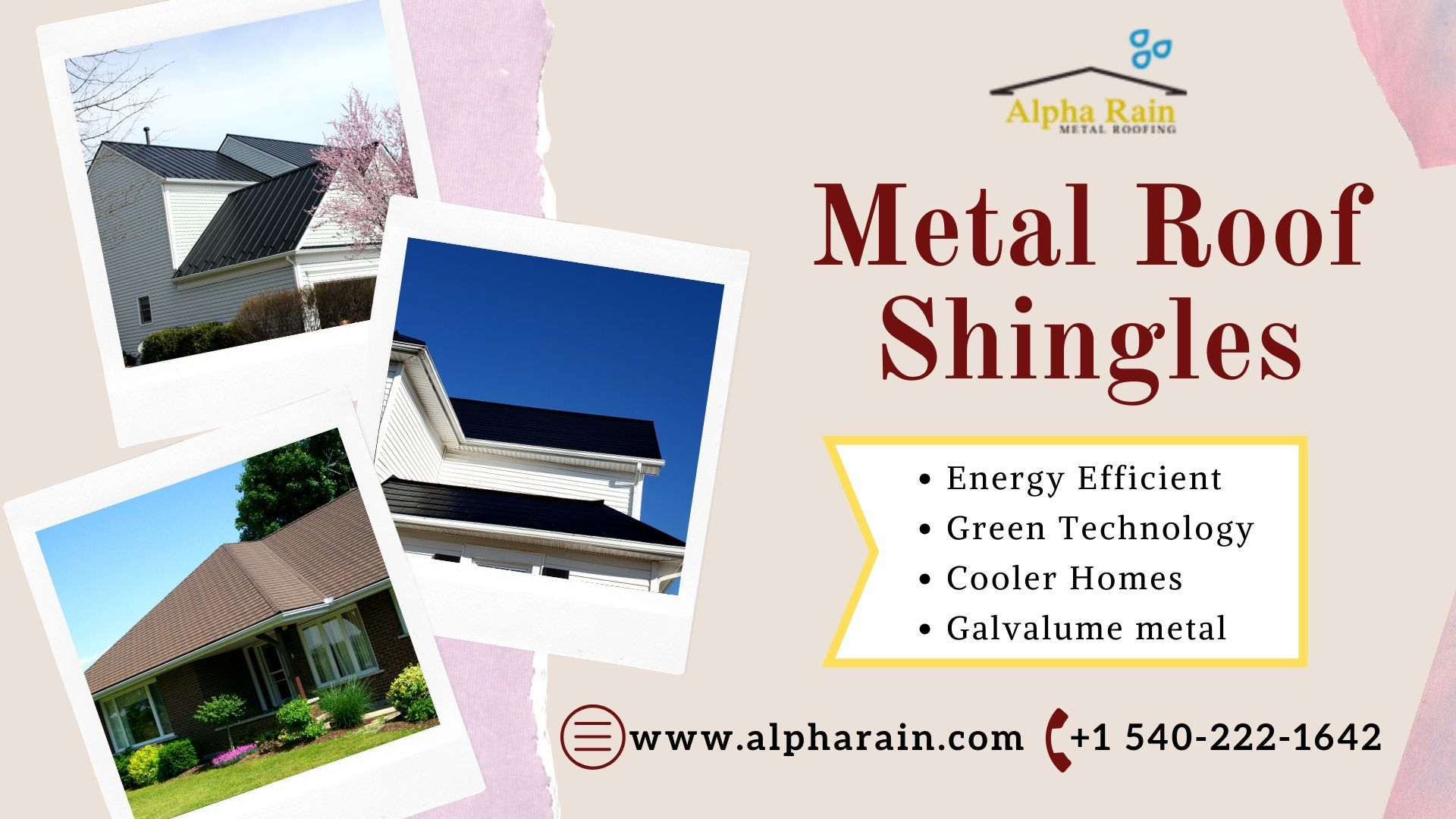 Alpha Rain Is A Very Famous Metal Roof Shingles Provider In Northern Virginia We Install The Best Quality Shingle In 2020 Metal Shingle Roof Metal Roof Metal Shingles