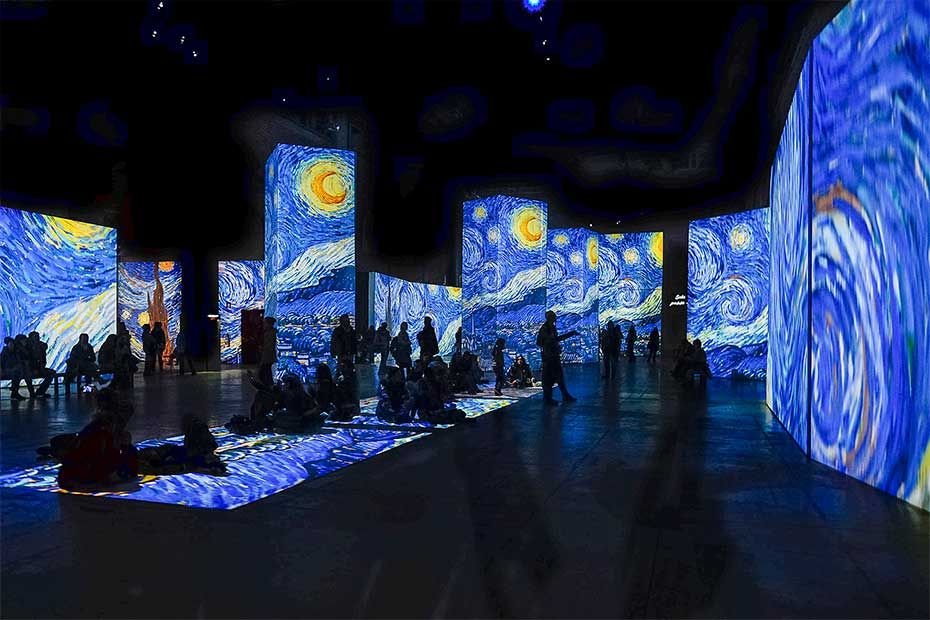 Multisensory Art Exhibition | Van gogh museum, Van gogh, Van gogh paintings