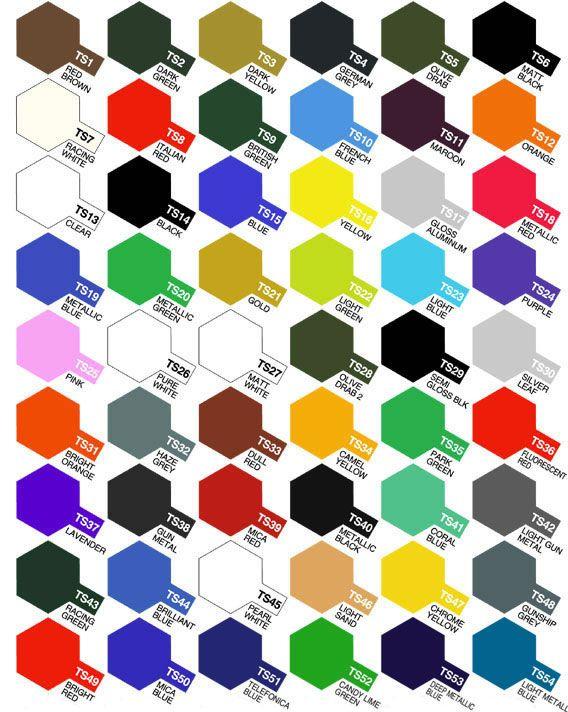 Ts Color Carta De Colores Carta De Colores Pintura Colores