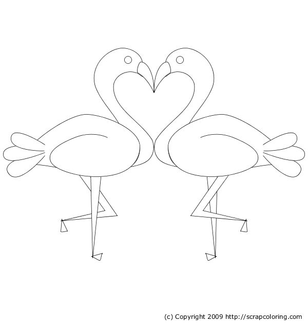 Pink Flamingos To Embroider Needle Arts Embroidery Patterns
