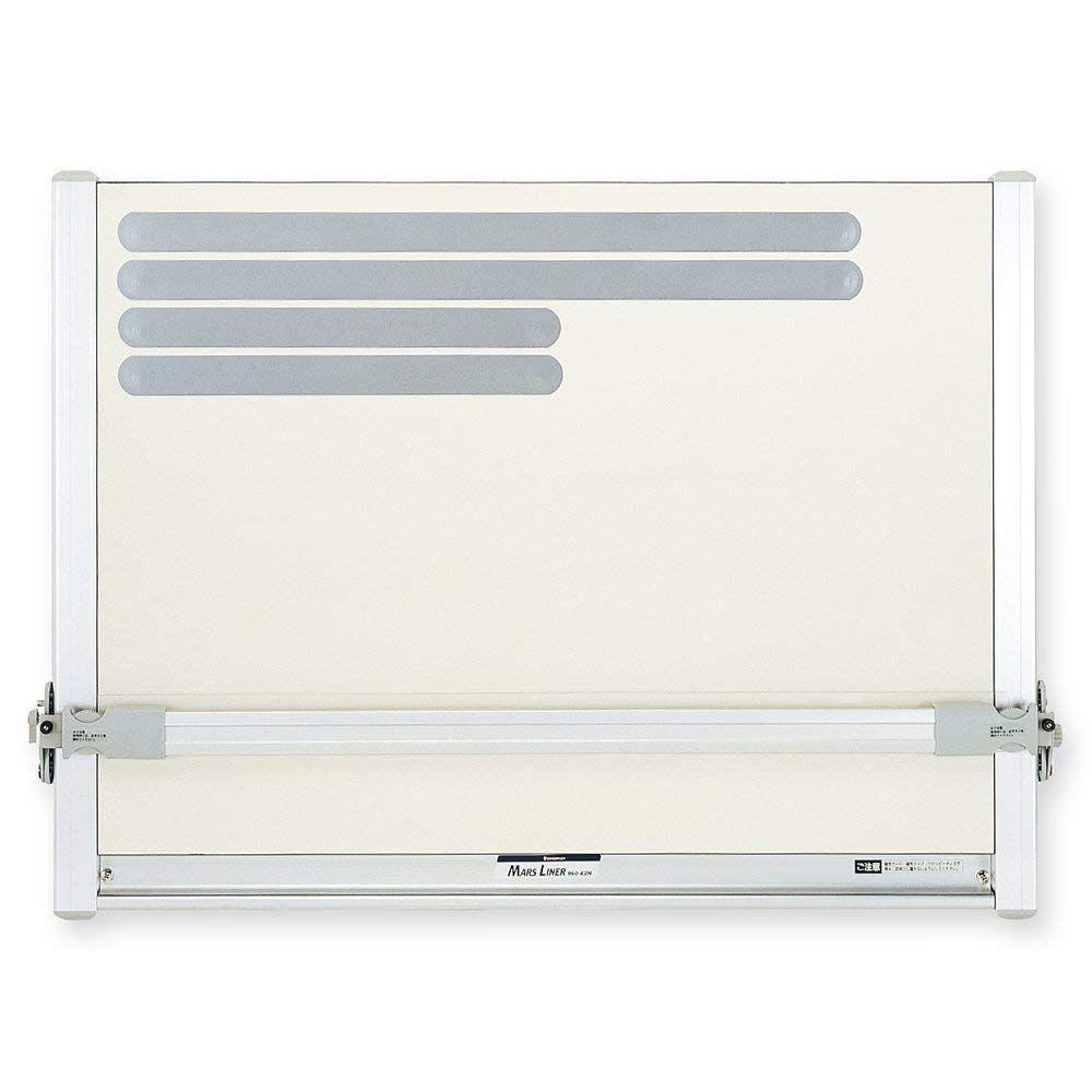 ステッドラー マルスライナー平行定規 A2サイズ マグネット製図板