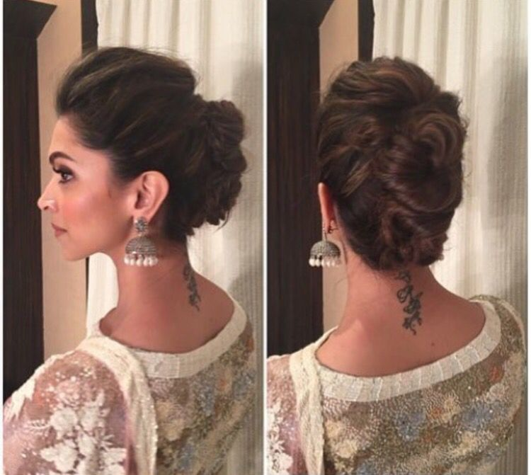 Indian Party Hairstyles: Indian Bun Hairstyles, Bollywood Hairstyles