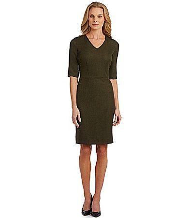b6d43a4631b Antonio Melani Jane Herringbone Dress  Dillards