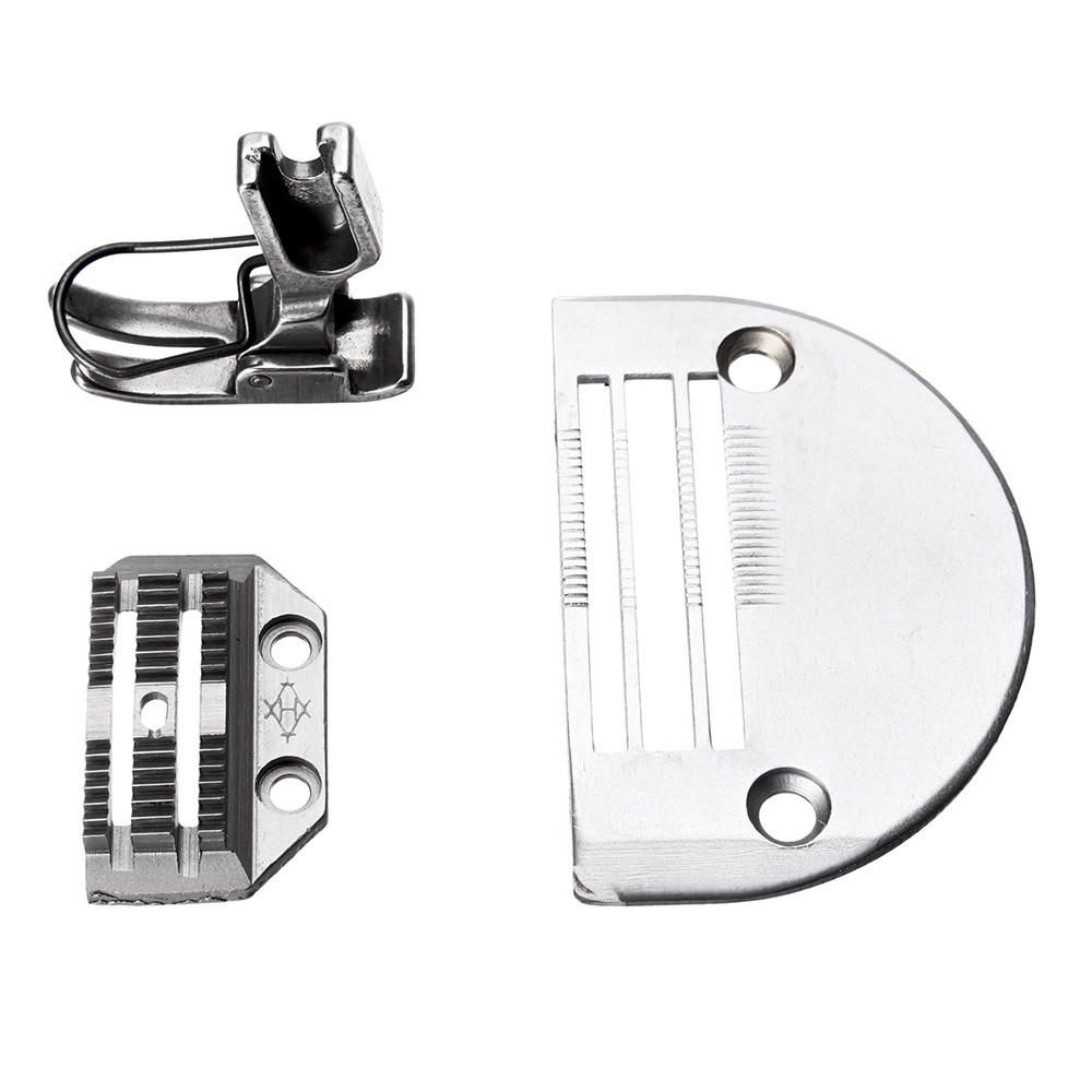 US$8 99] Heavy Needle Plate with Presser Foot Set for Juki