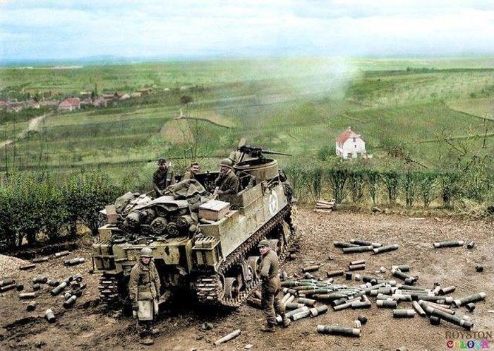 Цветные фото времен Второй мировой войны (39 фото) | Война ...