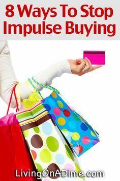 8 Ways To Stop Impulse Buying
