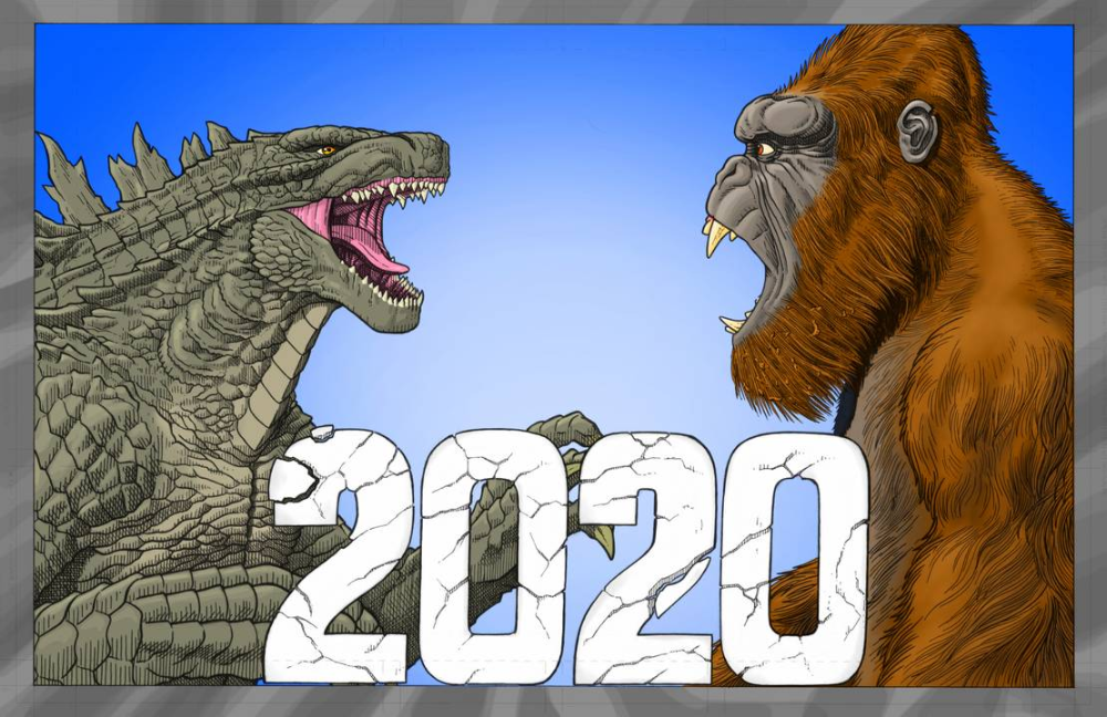 Godzila Vs Kong 2020 By Amirkameron On Deviantart King Kong Vs Godzilla Kong Godzilla Godzilla Vs