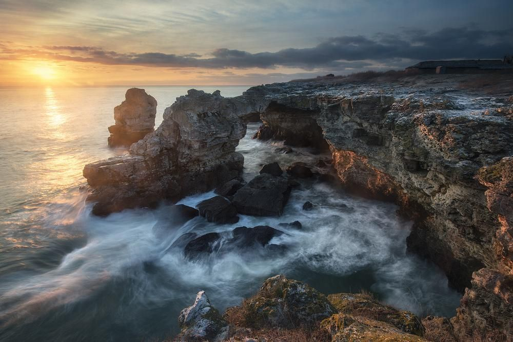 Рассветы Черного моря #Болгария #Рассвет #Черное море# ...