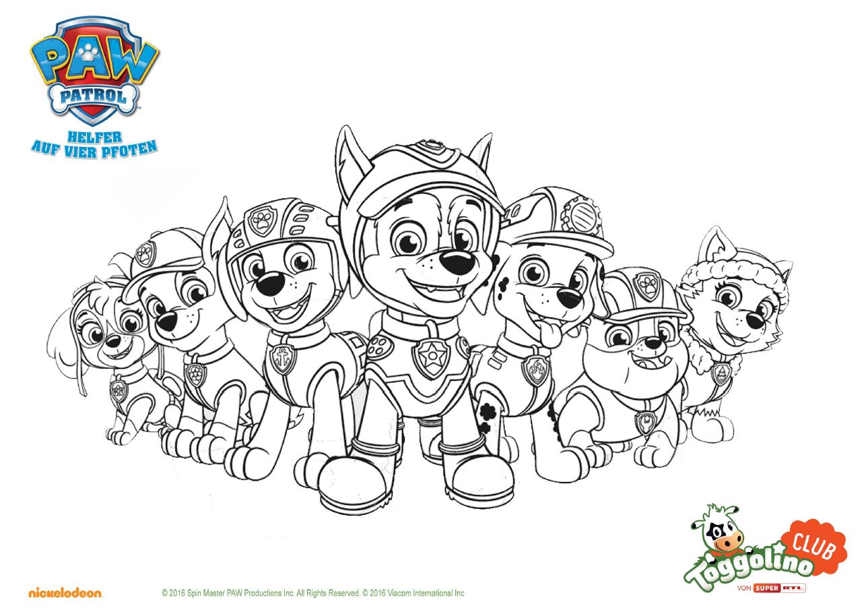 Pin Von Robyn Ullman Velasco Ricca Auf The Paw Patrol La Pat Patrouille Ausmalbilder Kinder Disney Malvorlagen Ausmalbilder
