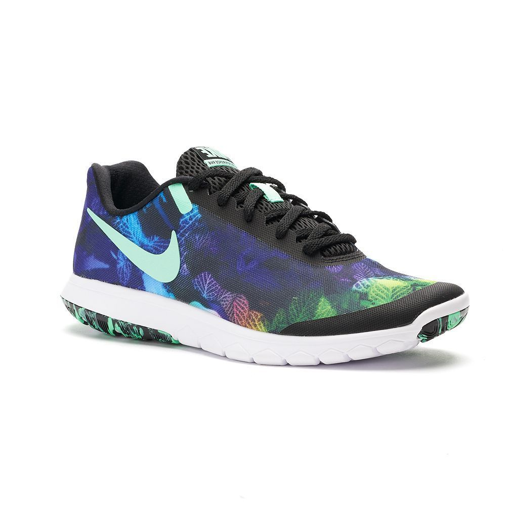 huge discount 39a4b 42c2c Nike Flex Experience RN 6 Print Women s Running Shoes, Size  10.5, Grey  (Charcoal)