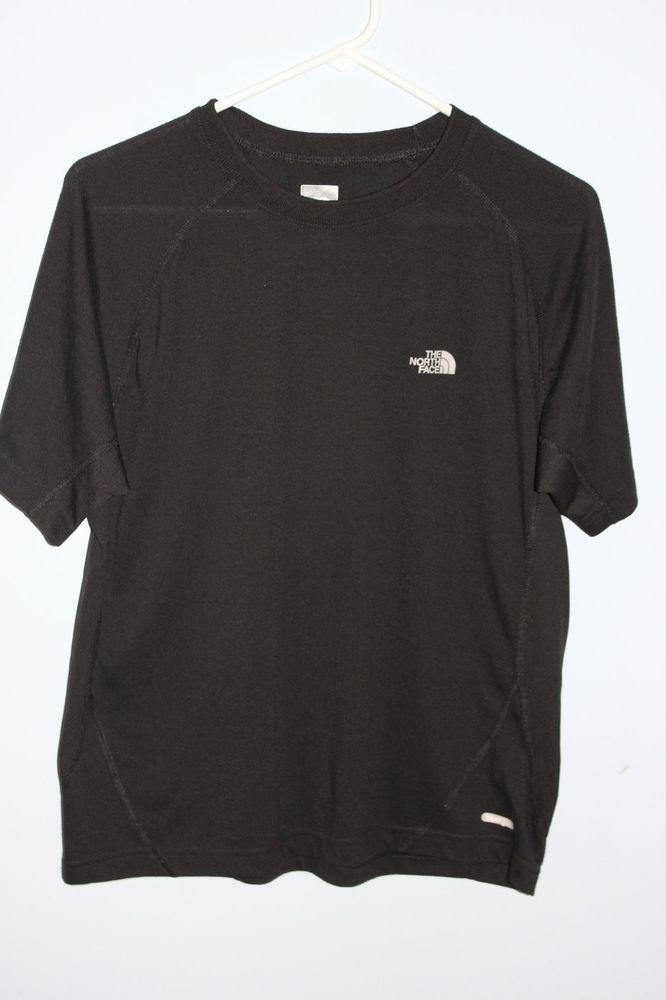 The North Face Vapor Wick Black Athletic Mens  T-Shirt Size XL