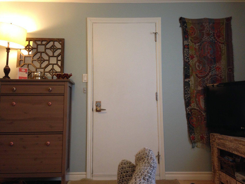 How To Paint Front Door When It's in Your Living Room?  Good Questions