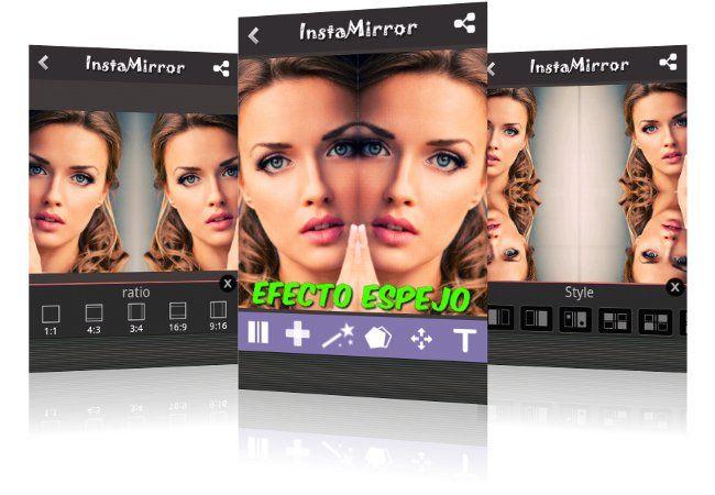 InstaMirror es una aplicación Android que te permite hacer