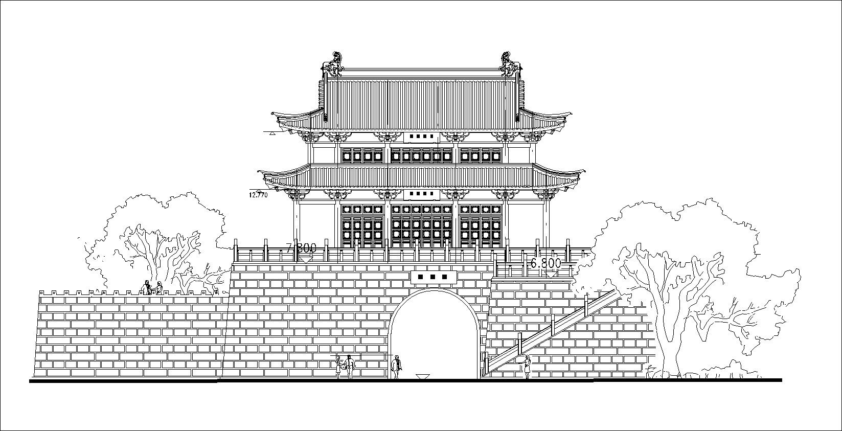 Chinese Architectural Drawings 1 Cad Design