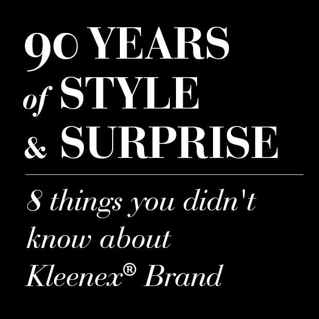 Everyday Essentials - Kleenex at 90 years - eight thinkgs you didn't know about the brand.